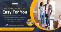 Home Inspecction Ad Facebook Shared Image template