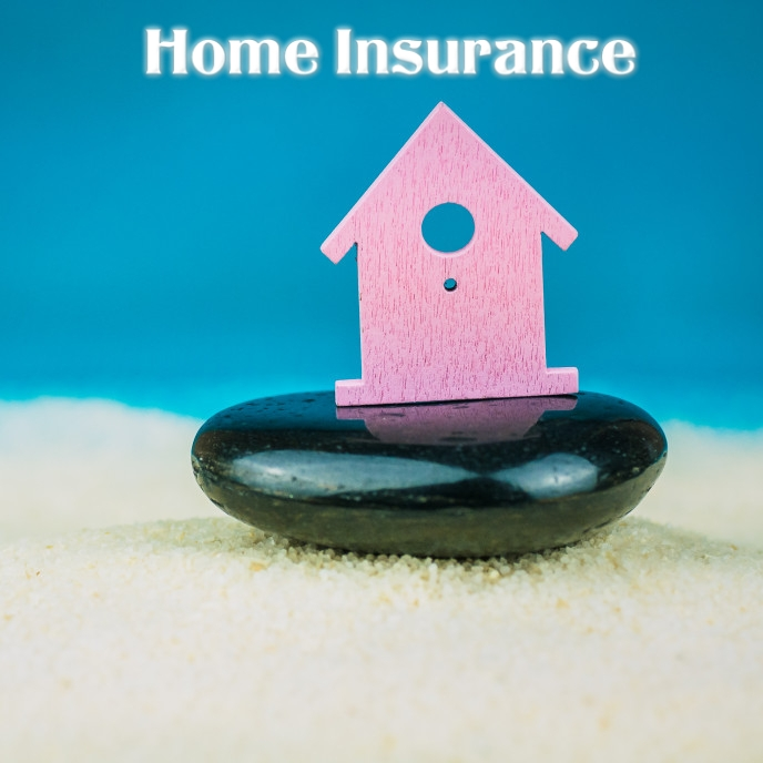 home insurance flyer Cover ng Album template