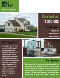 Home Interior Flyer Template Design