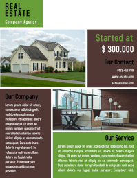 Home Interior Flyer Template Design