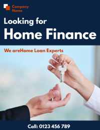 home loan flyer template