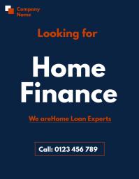 home loan flyer template