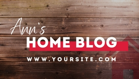 Home Owner Modern Blog Header Template Blogkop