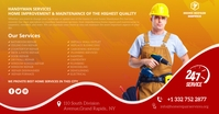 home repair services Facebook Shared Image template
