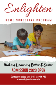 Home Schooling Poster
