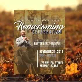 Homecoming Celebration