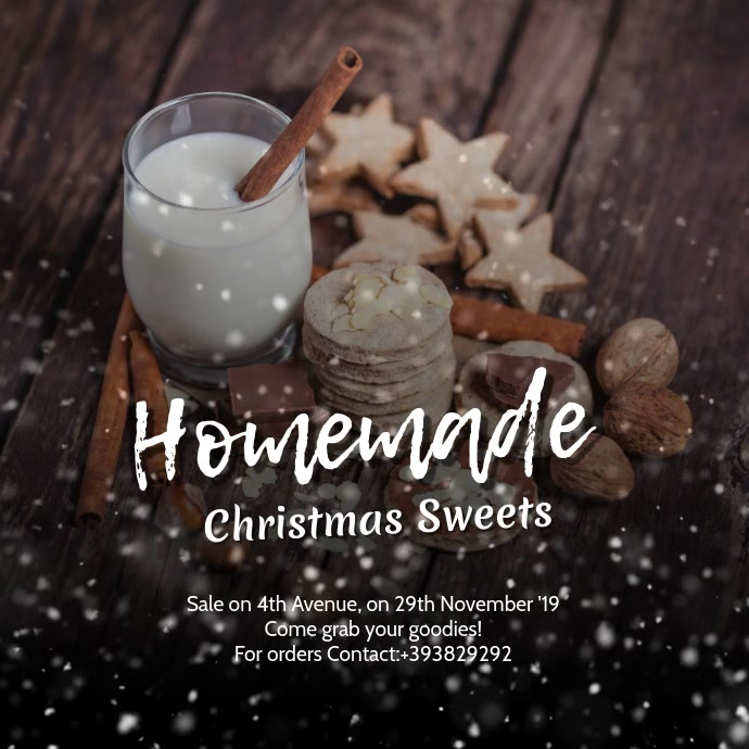 Homemade Christmas Sweets Sale VIDEO As 3