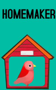 Homemaker Kindle/Book Covers template