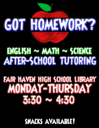 Homework Flyer