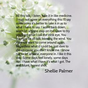 Honesty: Poem By Shellie Palmer