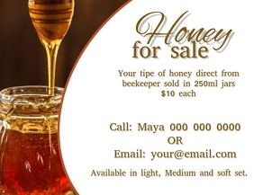 Honey Flyer Template