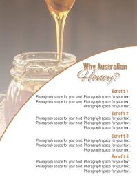 Honey Flyer Template