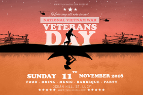 free veteran s day flyer templates postermywall