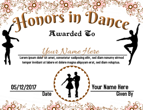 Honors in Dance