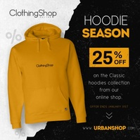 Hoodies Ad Instagram Image template