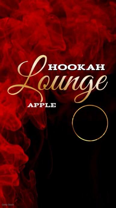 Hookah lounge Video Template Display digitale (9:16)
