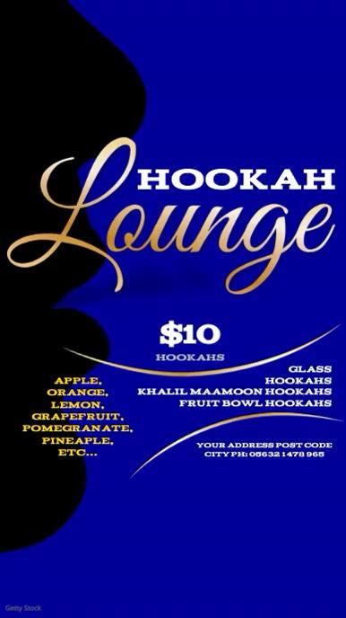 Hookah Lounge Video Template