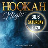Hookah night Instagram