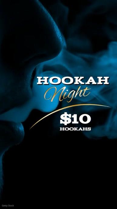 Hookah Night video post