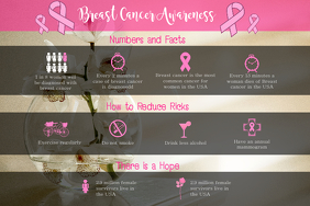 Horizontal Breast Cancer Awareness Poster