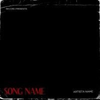 Horror House Mixtape Cover Design Template Album Omslag