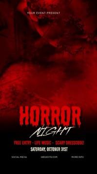 HORROR NIGHT Halloween Story Video Template