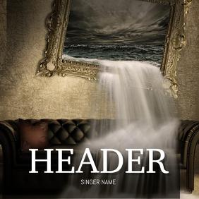 Horror Scaty Music Album Cover Template