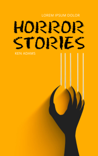 Horror Stories Book Cover Template Kindle Omslag