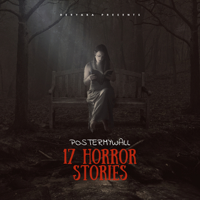 Horror Stories CD Cover Template
