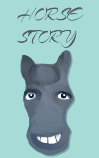 Horse story cover design Kindle/Book Covers template