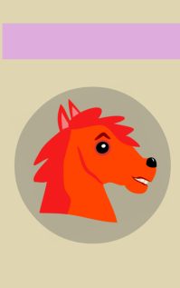 Horsehead bookcover design
