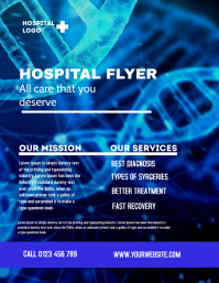 hospital flyer,small business flyer