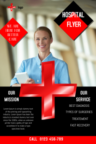 hospital flyer template,small business flyer