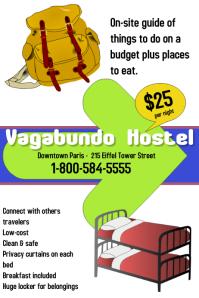 hostel/hotel/tourism/travelers/backpacking