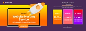 Hosting Service Flyer Facebook 封面图片 template