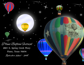 Hot Air Balloon flyer