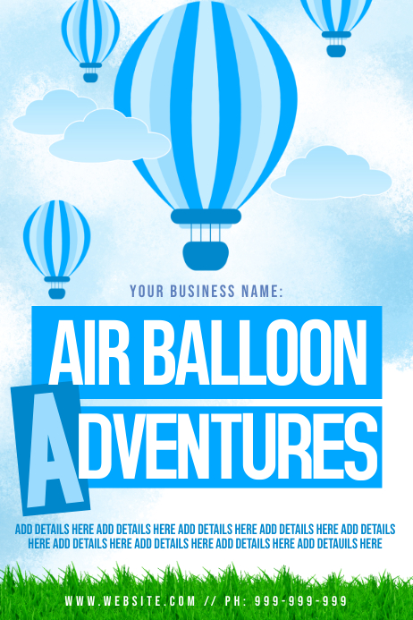 Hot Air Balloon Postet