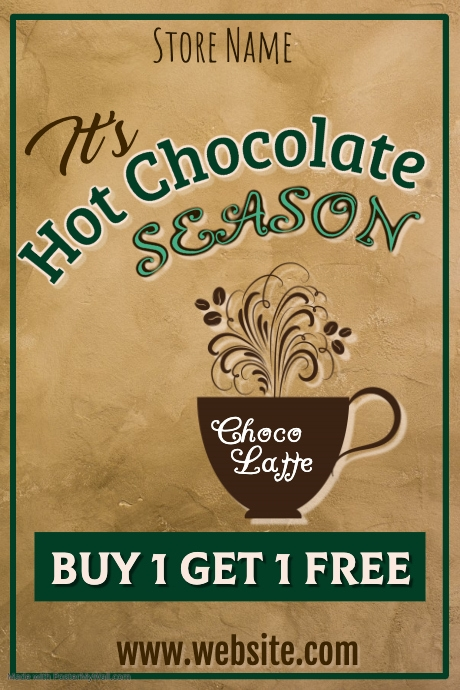 Hot Chocolate Ad