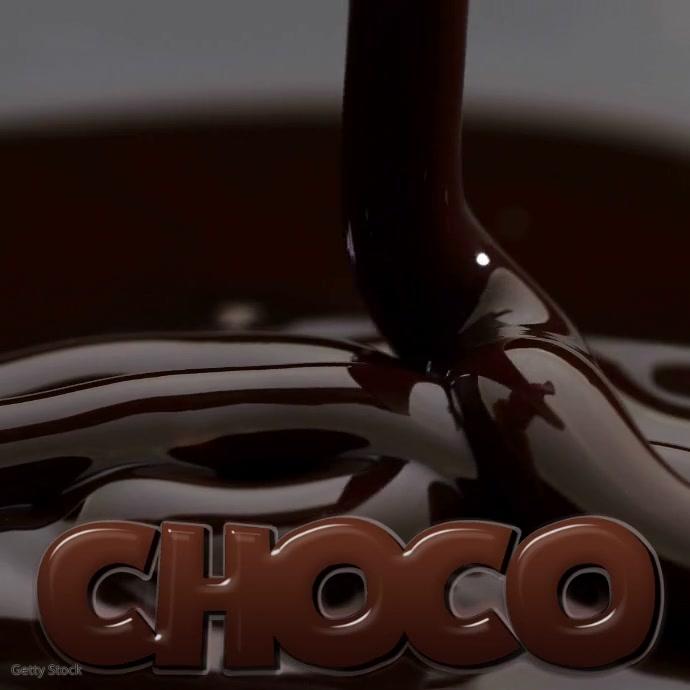 HOT CHOCOLATE CLUB Instagram Kvadrat (1:1) template