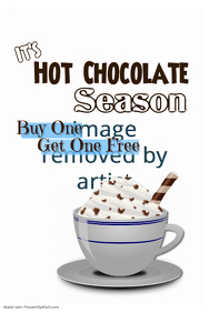 Hot Chocolate Season Poster Template