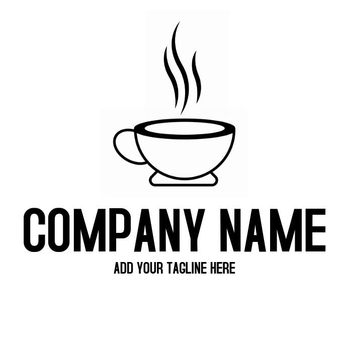 Hot coffee logo