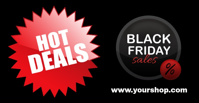 Hot Deals Black Friday Sale Special Cover Ad