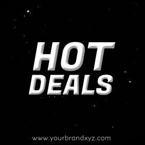 Hot Deals Video Advert Explosion Fire Advert