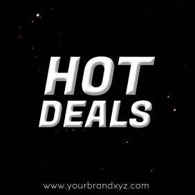 Hot Deals Video Advert Explosion Fire Advert