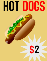 HOT DOG FLYER