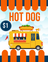 Customizable Design Templates For Food Truck PosterMyWall - Food truck flyer template