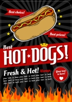 HOT DOGS POSTER