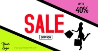 hot offer sale facebook ad template