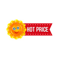 HOT PRICE Logótipo template