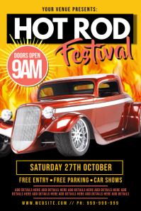 Hot Rod Festival Poster